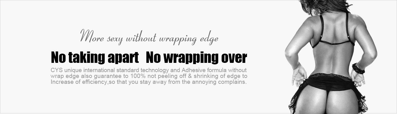 No-disassembly-wrapping-edge