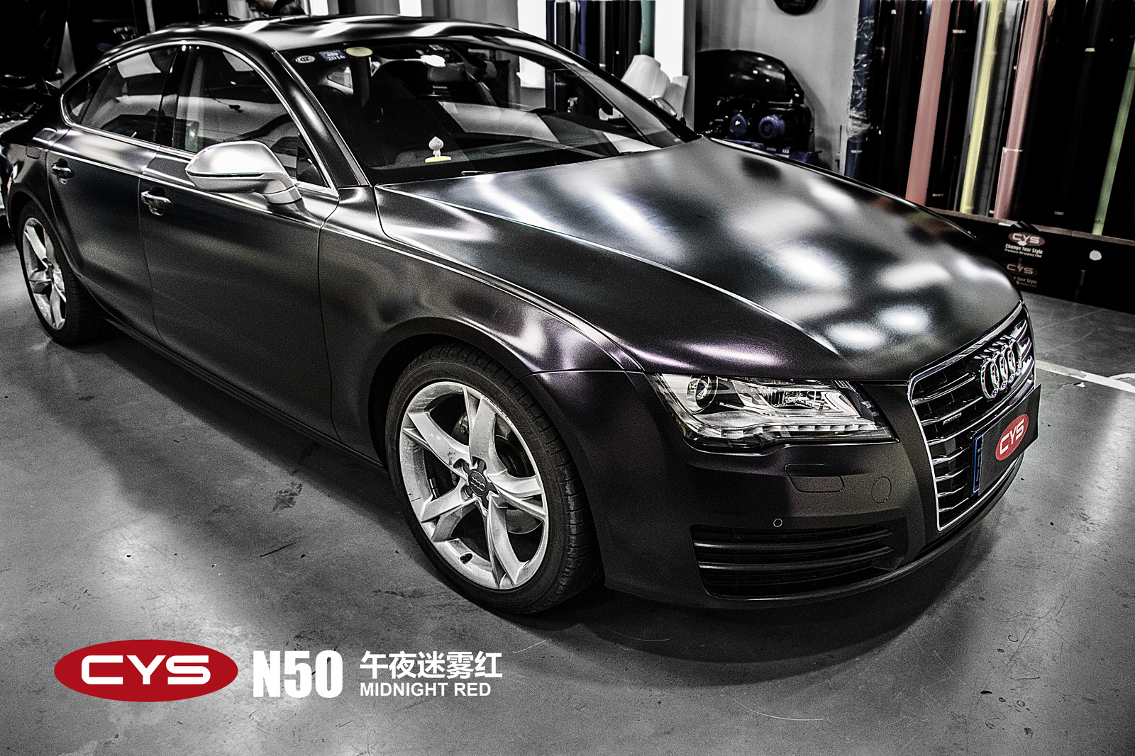Audi N Midnight RedGalleryCYS Vehicle Film Official Website - Audi official website